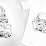 Stormtrooper Text T-shirt Design
